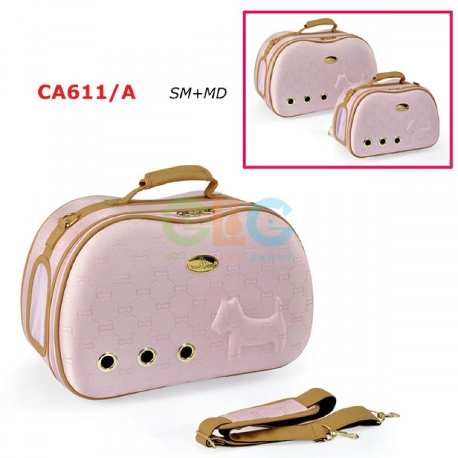 Стильная и удобная сумка-переноска для кошек с вентилируемыми...