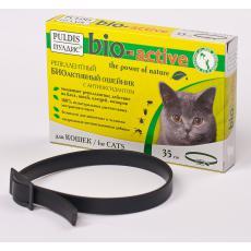 ПУЛДИС БИОактивный ошейник для кошек,35см.