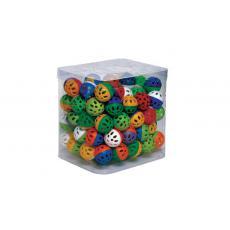Игрушка д/к -мяч пластмассовый 3,5 см, шт в упаковке  100шт.