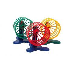 Колесо для грызунов D90,  пластик, шт