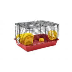 Клетка для мелких грызунов 38см*26см*22см Цветная, шт