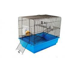 Клетка СЕВA № 3 (Для грызунов) Цветная,2 этажа, 37см*26см*32см, шт