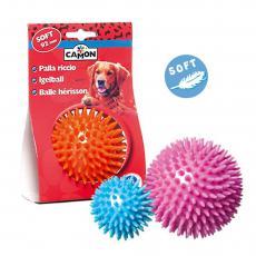 Camon Игрушка для собак Мячик с шипами из мягкой резины