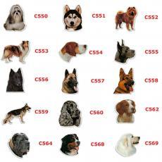 Camon Наклейки  с изображением животных 2шт