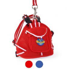 Camon Шлейка-рюкзачек  с поводком