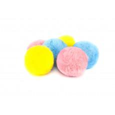 Игр д/к шарик помпон 4,5 см (50шт/уп), шт