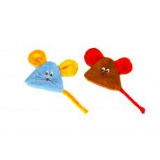 Игр. д/к Мышь с экстратом кошачей мяты на липучке