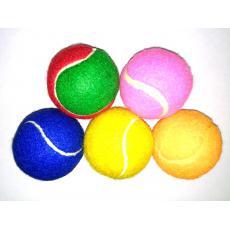 Мяч теннисный 6,2 см  Жесткий , ворсовое покрытие (текстиль-резина)