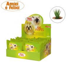 Салфетки Camon AF для глаз кошек и собак с Алое  15шт/пач