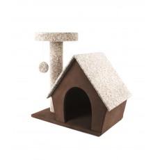 Дом маленький с когтеточкой 580*340*680