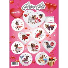 "Pret-a-Pet Наклейки для детей ""Love is"""
