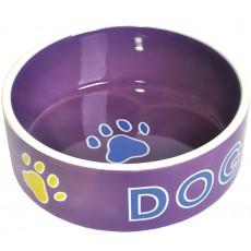 Миска GLG керамика д/с сирень DOG15.2*15.2*6CM
