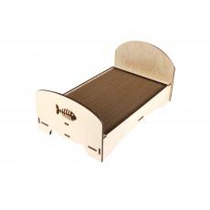 Кроватка-когтеточка 230*450мм