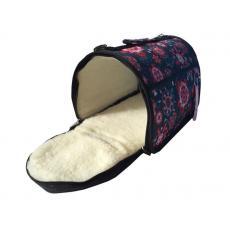 Зимняя сумка LUX С МЕХОМ 32х20х22см