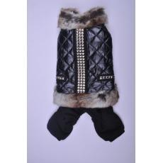 Куртка-комбинезон с мехом для собак P-a-P